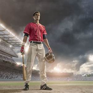 Baseball Sports Portrait 3